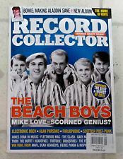 RECORD COLLECTOR January 2016 BEACH BOYS Mike Love ALADIN SANE DAVID BOWIE New