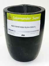 SALAMANDER A-6 SUPER CLAY GRAPHITE MORGAN MELTING CRUCIBLE FOR BRASS GOLD SILVER