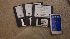 SCITEX Versamark  HOST Boot Floppy Disks S220 & Flash Card 5240  # 0180075-221