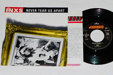 "INXS -Never Tear Us Apart- 7"" 45 mit Product Facts Promo-Flyer"