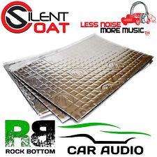 SILENT COAT 2mm 8 fogli 8,6 sq.ft AUTO SOUND deadening vibrazione rettifica MAT