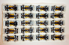 1990s SHELL OIL PROMO - LOT OF 20 RAHAL - HOGAN T94 LOLA INDY RACERS ~ 3.5-inch