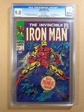 1968 Marvel Comics Iron Man #1 CGC 9.0