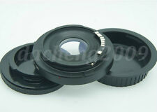 AF Confirm Minolta MD Lens to Canon Adapter EOS 450D 550D 5D 1DS With Glass +CAP