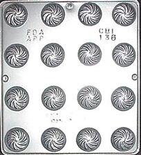 Swirl Mint Chocolate Candy Mold Candy Making  135 NEW