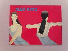 Alex Katz Exhibit Catalog - Marlborough Gallery, NY, 1980