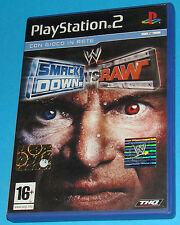 Smack Down Vs Raw - Sony Playstation 2 PS2 - PAL