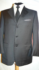 CANALI -ITALY FAB ELEGANT TAILORED GREY BUSINESS/WORK SUIT JACKET UK 40 EU 50