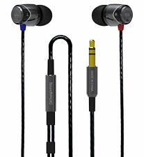 SoundMAGIC E10 Gunmetal & Black Noise Isolating In-Ear Headphones Earphones