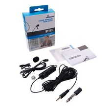 Lavalier Microphone Audio for Boya BY-M1 phone Canon Nikon Sony EOS DSLR Camera