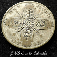1925 GEORGE V .500 SILVER FLORIN COIN SCARCE DATE.,