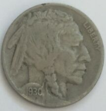 1930 U.S.A Buffalo Nickel coin