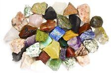 4 Pounds Assorted INDIA Stone Mix - Tumbling Rock, Cabbing, Reiki, Rock Tumbler
