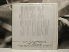 BENNY GOODMAN SEXTET AND ORCHESTRA - JAZZ STORY LP EX+/EX+ ITA 1972 AR/LP 12079