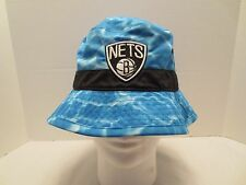 MITCHELL & NESS NBA SURF CAMO BUCKET HAT BROOKLYN NETS L/XL LARGE EXTRA LARGE