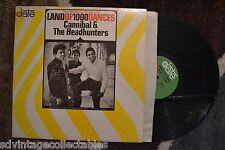 CANNIBAL & THE HEADHUNTERS Land Of 1000 Dances Date Original Label RECORD LP VG