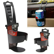 Black Universal Vehicle Car Truck Door Mount Drink Bottle Cup Holder Stand New J