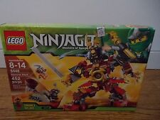 New LEGO Ninjago Samurai Mech (9448) - Retired Set! Samurai X, Snike and Bytar