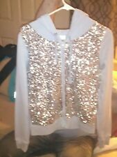 Victoria secret pink bling hoodie Small NWOT