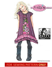 SEWING PATTERN! MAKE BOUTIQUE STYLE DRESS! CHILD~GIRL SIZE 3-8 PATTY REED DESIGN