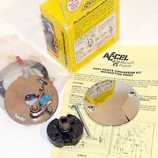 ACCEL ELECTRONIC TO POINTS IGNITION CONVERSION KIT HARLEY FL FX XL 1970-78