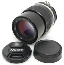 Nikon Nikkor Ai-s 135mm F3.5 MF Lens. Filter