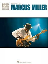 Best of Marcus Miller Sheet Music Bass Recorded Versions Book NEW 000690811