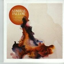 (CV711) Admiral Fallow, The Paper Trench - 2012 DJ CD