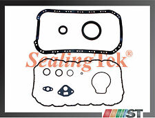 96-00 Honda 1.6L SOHC Engine Lower Gasket Set oil pan gaskets D16Y8 D16Y7 D16Y5