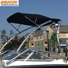 Origin Wakeboard Tower Bimini Black Canopy Large |5 Yrs No Fading No Deformation