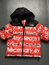 The North Face x Supreme by any means necessary nuptse jacket