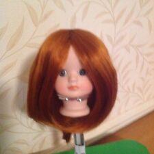 """BJD Dolls Auburn Wig 7"""" Head,New No 15"""