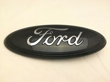 "2013-2014-15  f150 tailgate emblem w/ backup camera,GLOSS BLACK 7"" 3D,more sizes"