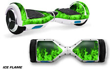 Skin Decal Wrap for Hoverboard Self Balancing Scooter Swagway X1 Sticker ICE GRN