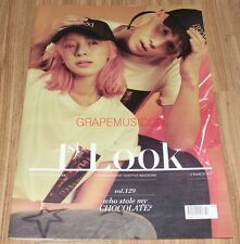1ST LOOK FIRST LOOK VOL.129 MARCH SHINEE KEY RED VELVET IRENE TABLOID MAGAZINE