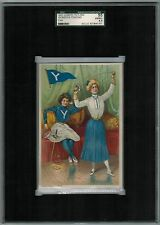 SGC 4.5 1903 Tetlow YALE FENCING College Girl Series The Highest One Graded