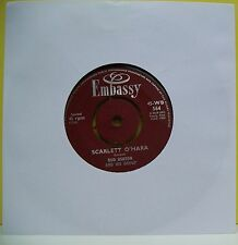 "7"" VINYL SINGLE. Scarlett O'Hara by Bud Ashton and His Group. 1963. 45-WB 564"