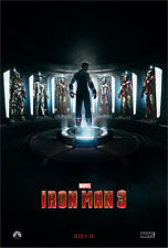 IRON MAN 3 MOVIE POSTER 2 Sided ORIGINAL Advance 27x40 ROBERT DOWNEY JR.