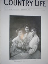 Printed photo the Countess of Stair and her daughters 1904  my ref R
