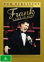 Frank A Life In Song - Tom Burlinson New DVD Region 4 Sealed