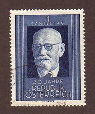 Austria--#557 Used--President Karl Renner--1948