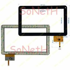 "Vetro Touch screen 10,1"" Yarvik Noble 10c TAB10-400 Tablet PC Nero"