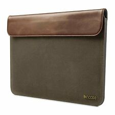 "Incase Pathway Slip Slim Sleeve Case for MacBook Air 11""  Olive/Tan CL60425 OPEN"
