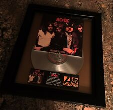AC/DC Highway To Hell Platinum Record Album Disc Music Award Grammy RIAA MTV