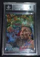 B010 1996-97 SCOTTIE PIPPEN FLAIR SHOWCASE LEGACY ROW 0  #27 BGS 9 MINT