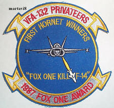 US.Navy F-18 Hornet VFA-132 Cloth Badge / Patch (F18-5)