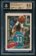 1992-93 Hoops Magic's All-Rookie Team #2 Alonzo Mourning rc BGS 9.5