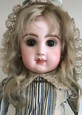 """17"""" FABULOUS Antique Close Mouth French Tete Jumeau Doll #7 Marked Head & Body"""