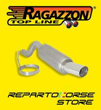RAGAZZON TERMINALE ROTONDO 90mm FIAT GRANDE PUNTO 1.4 16V Sport 70kW 10.0190.60