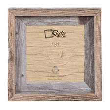"4x4 - 2"" Wide Signature Reclaimed Rustic Barn Wood Photo Frame"